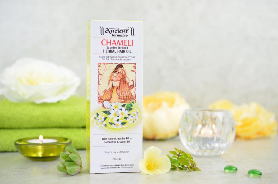 olejek do włosów jaśminowy