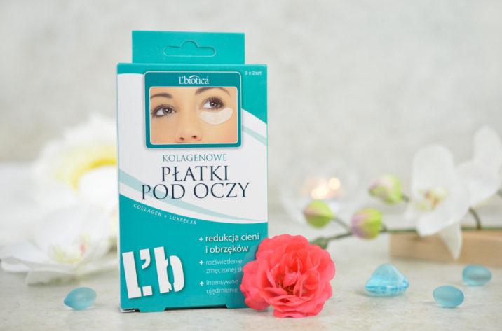 Płatki kolagenowe pod oczy – redukcja cieni i obrzęków