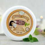 Biała glinka z mlekiem kozim