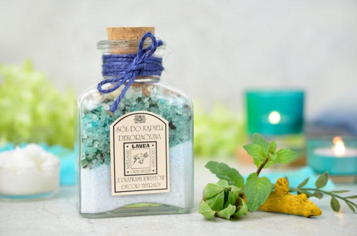 Dekoracyjna sól do kąpieli z algami morskimi