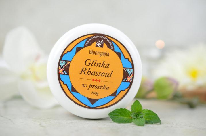 Glinka Ghassoul (Rhassoul) w proszku