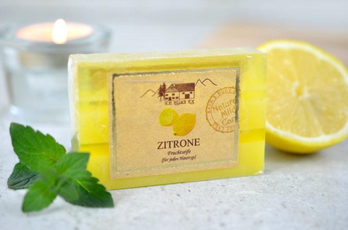Naturalne mydło glicerynowe Cytrynowe