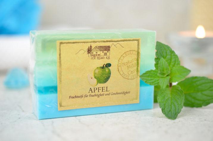 Naturalne mydło glicerynowe Zielone Jabłuszko