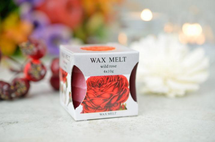 Zestaw wosków zapachowych – Dzika Róża