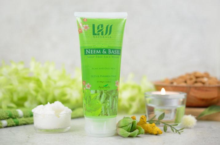 Przeciwtrądzikowy żel do mycia twarzy z neem i bazylią