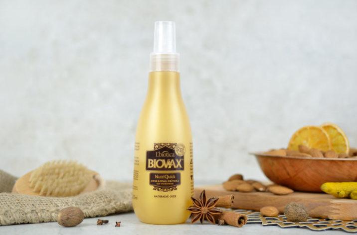 Dwufazowa odżywka do włosów z olejkiem arganowym, makadamia i kokosowym