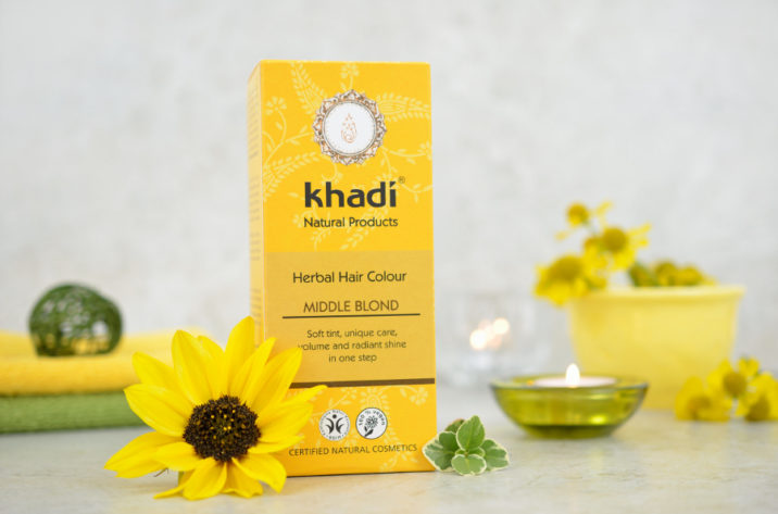 Henna do włosów Khadi Średni Blond