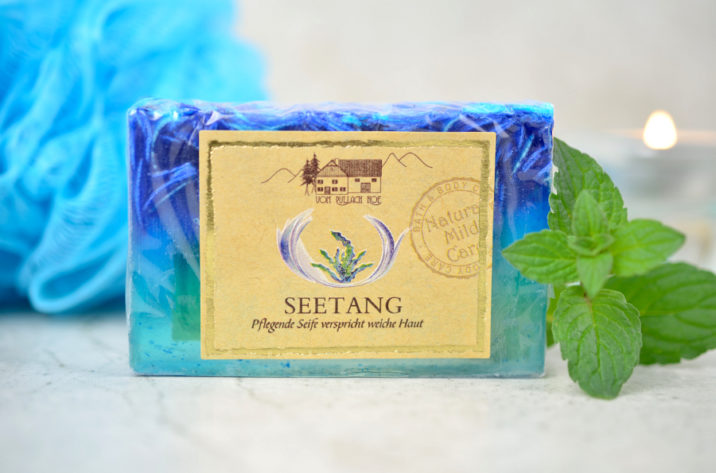 Naturalne mydło glicerynowe z algami morskimi