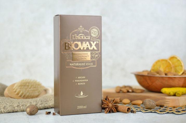 Intensywnie regenerujący szampon z olejkiem arganowym, makadamia i kokosowym