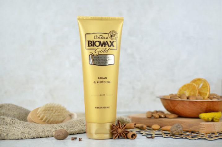 Intensywnie regenerujący szampon z olejkiem arganowym i złotem