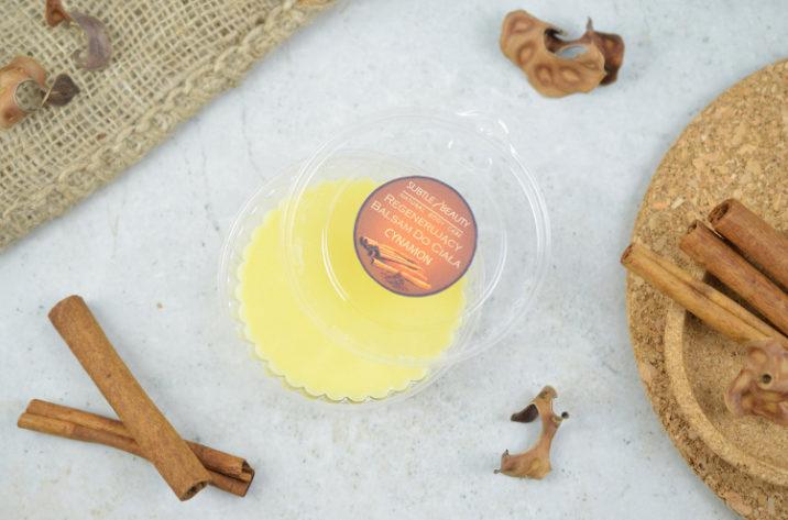 Cynamonowy balsam do ciała z woskiem pszczelim
