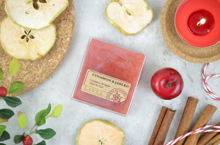 Mydło glicerynowe cynamon z jabłkiem