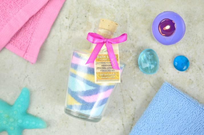 Dekoracyjna sól mozaikowa do kąpieli 120g