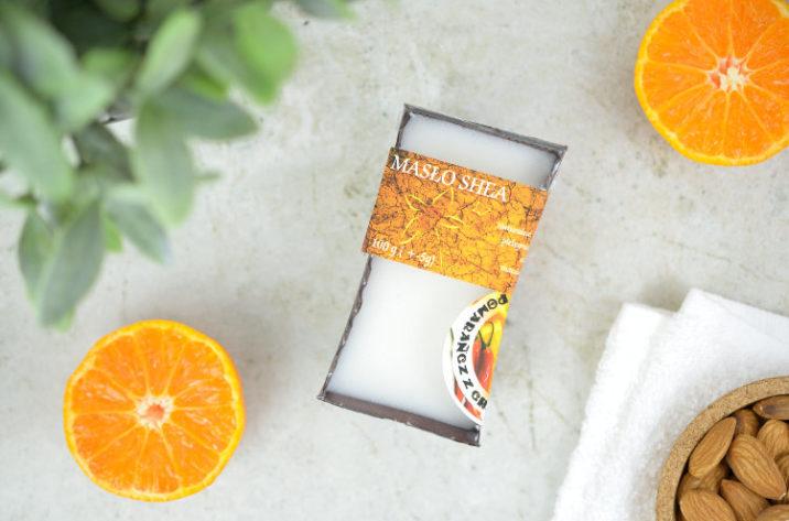 Masło shea – pomarańcza z chili