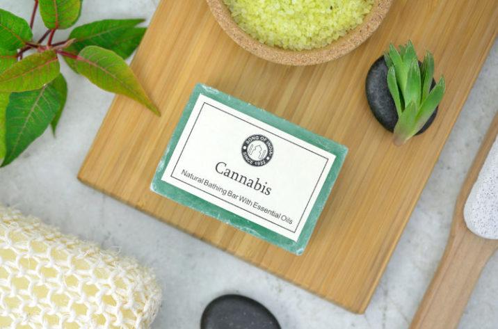 Mydło glicerynowe Cannabis