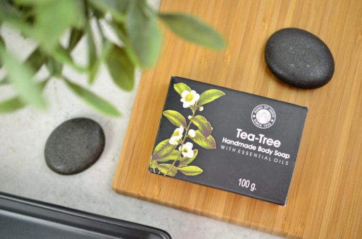Mydełko z olejkiem z drzewa herbacianego