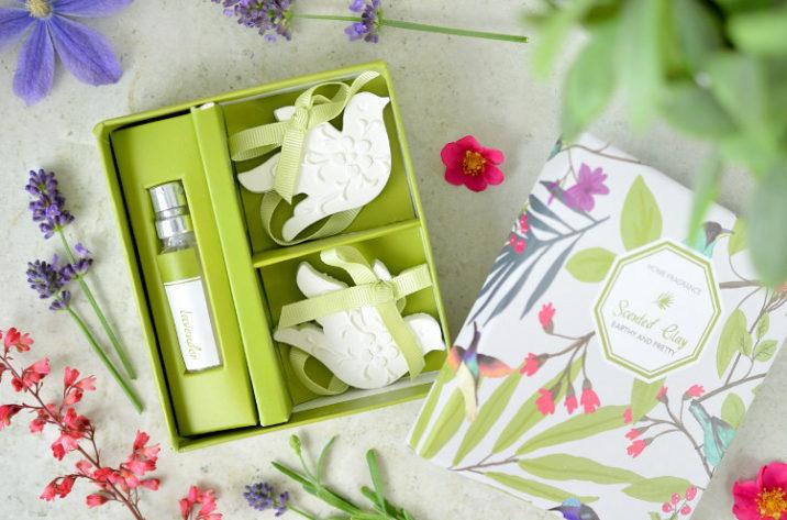 Zestaw zawieszek zapachowych - lawenda