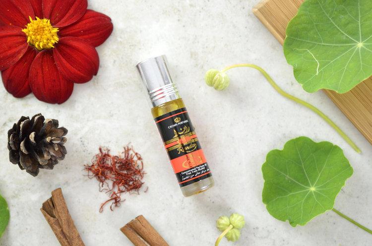 Orientalne perfumy w olejku Randa