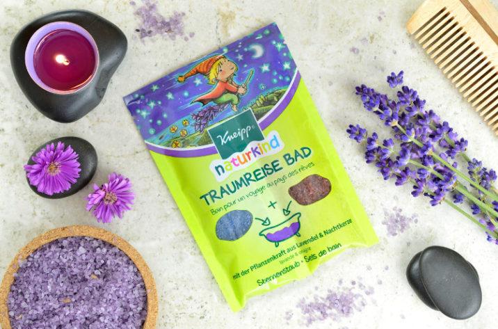 Kojąca sól do kąpieli dla dzieci Podróż Snów
