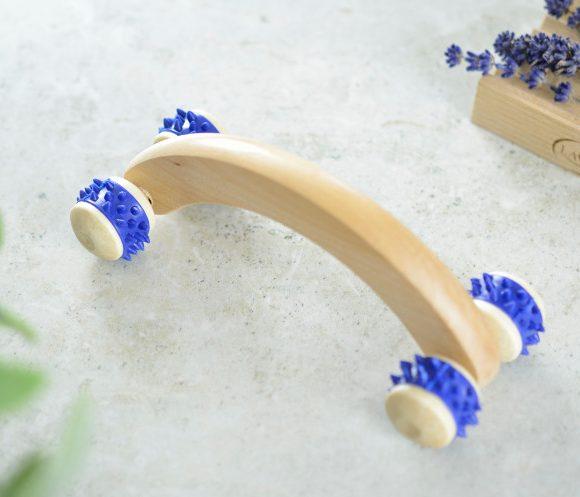 Drewniany masażer antycellulitowy