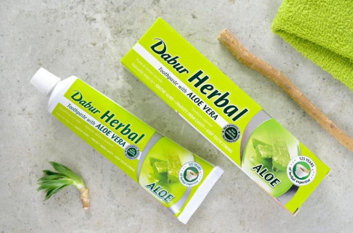 Pasta do zębów z aloesem, bez fluoru