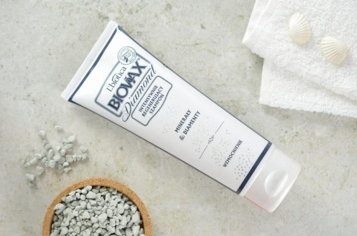 Intensywnie regenerujący szampon z diamentami i kompleksem minerałów