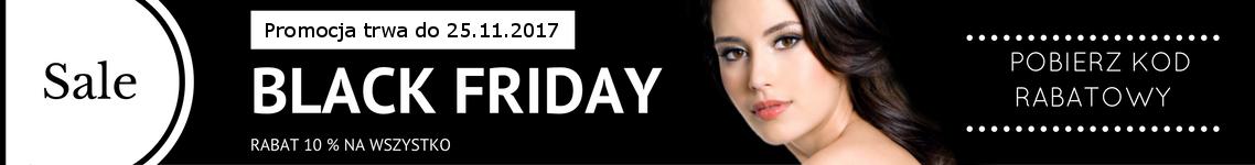 Black Friday RABAT 10 % na kosmetyki