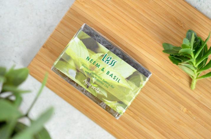 Mydło przeciwtrądzikowe z neem i bazylią