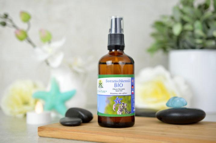 Organiczny olejek z ogórecznika