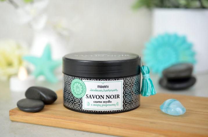 Savon Noir - czarne mydło z miętą pieprzową