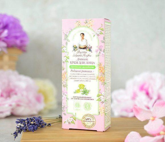 Organiczny krem do twarzy 35-50 - z rokitnikiem, zieloną herbatą i cytryńcem