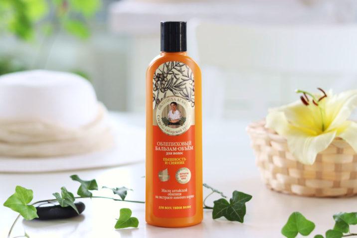Balsam do włosów z olejkiem rokitnikowym