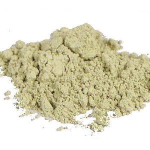 Kamuflaż zielony Green Corrector Rhea, kosmetyk mineralny