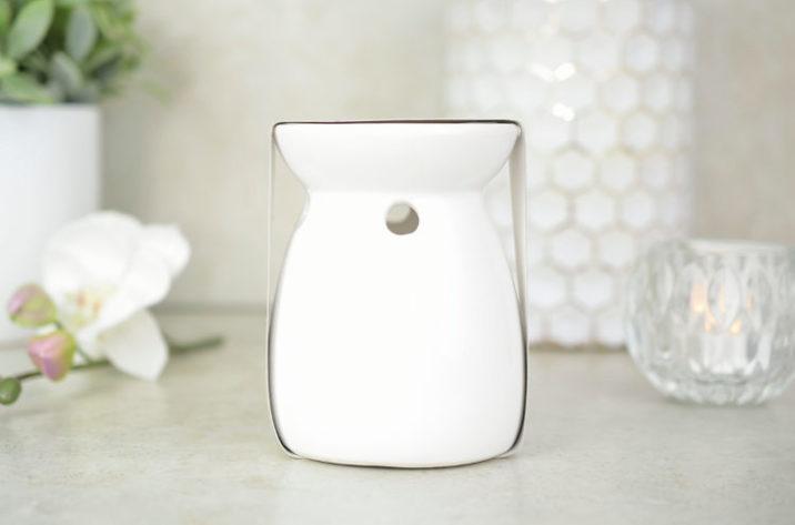 Kominek zapachowy z woskiem – wanilia