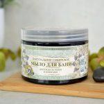 Naturalne, czarne mydło z olejkiem rokitnikowym i syberyjskimi ziołami