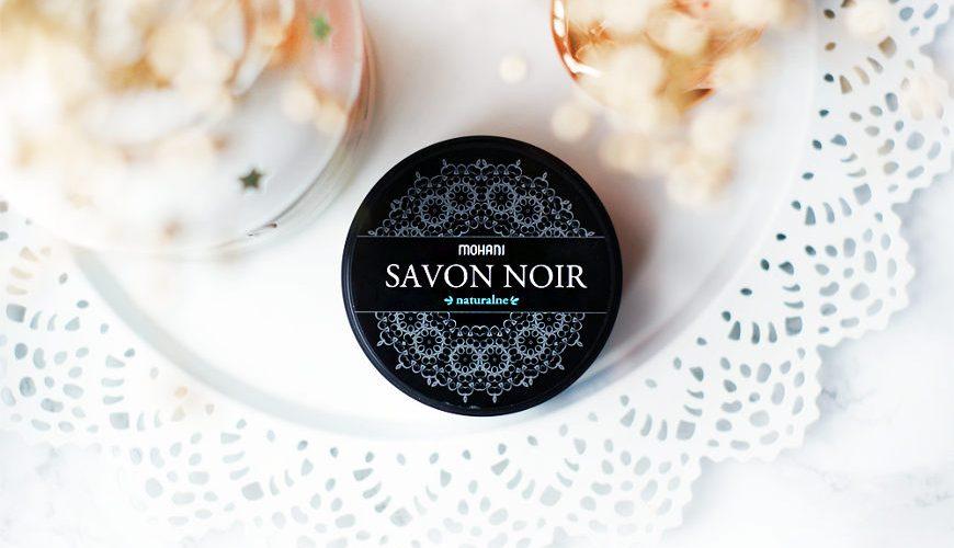 Czarne Mydło Savon Noir Mohani