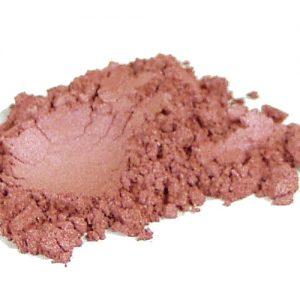 Róż do policzków mineralny Rhea- Winter mauve- odcień ciepły, kosmetyk mineralny