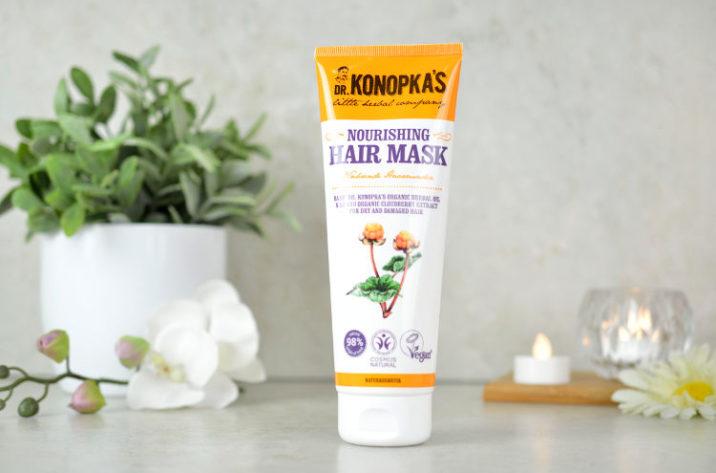 Odżywcza maska do włosów suchych i zniszczonych