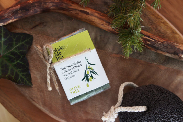 100% naturalne mydło z oliwy z oliwek