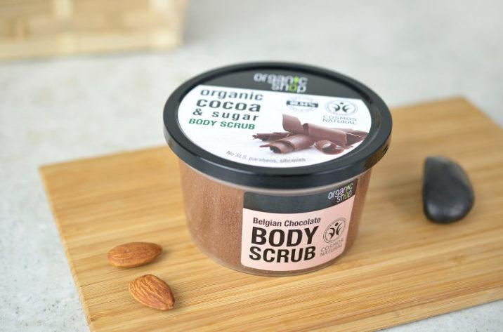 Peeling do ciała z organicznym masłem kakaowym
