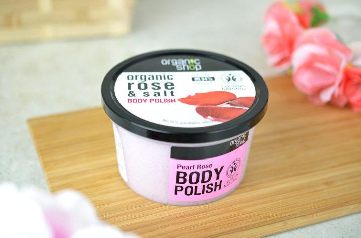 Peeling do ciała z organiczną różą