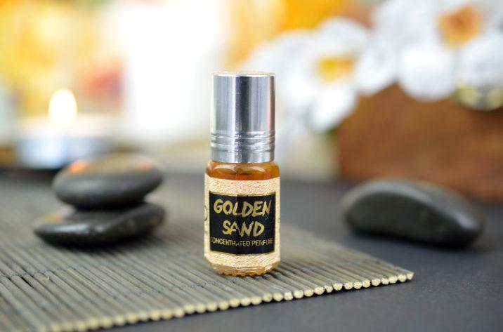 Orientalne perfumy w olejku Golden Sand