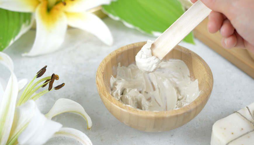 Biała glinka w kosmetyce