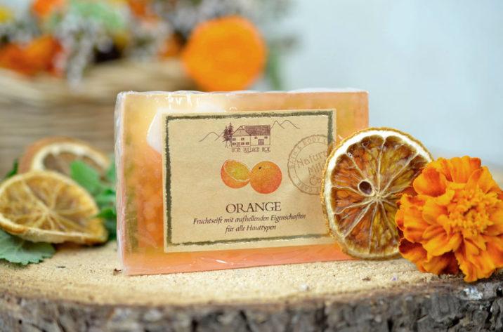 Naturalne mydło glicerynowe Pomarańczowe