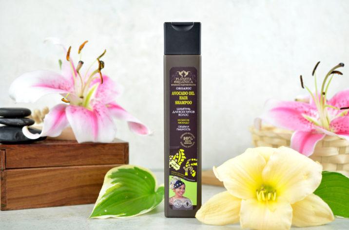 Szampon do wszystkich rodzajów włosów - 10% organiczny olej awokado