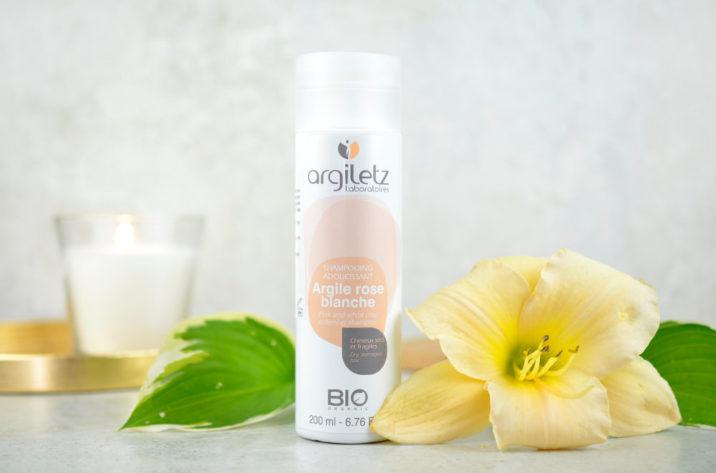 Szampon organiczny z białą i różową glinką