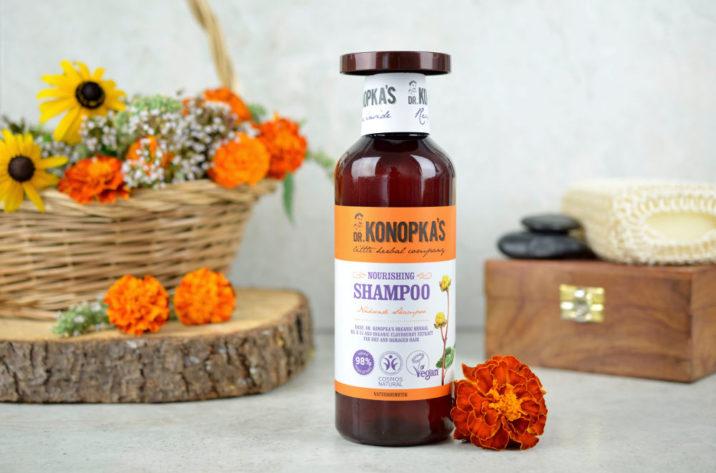 Odżywczy szampon do włosów suchych i zniszczonych