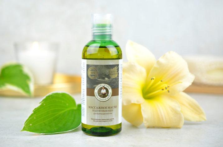 Ujędrniający olejek do masażu - korekcja figury