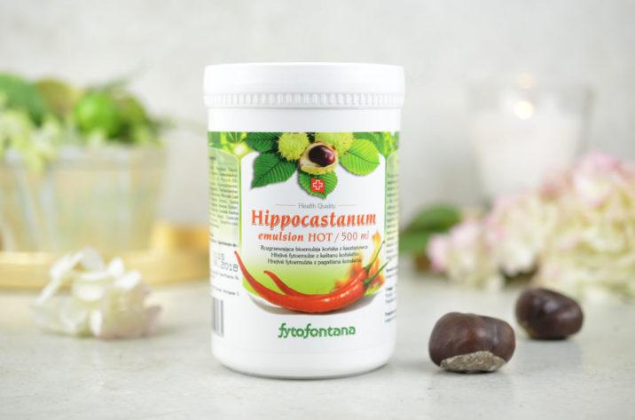 Hippocastanum HOT - rozgrzewająca emulsja końska z kasztanowca