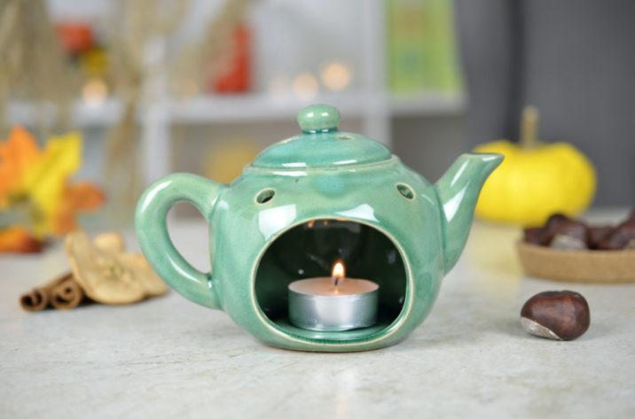 Kominek zapachowy – Tea Time – zielony